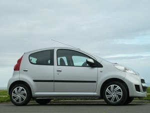 2009 PEUGEOT 107 1.012v URBAN VERY LOW MILEAGE FULL HISTORY For Sale (picture 2 of 12)