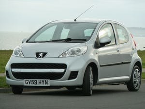 2009 PEUGEOT 107 1.012v URBAN VERY LOW MILEAGE FULL HISTORY For Sale (picture 9 of 12)