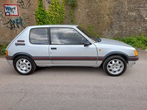 1989 Peugeot 205 1.9 GTi For Sale (picture 6 of 9)