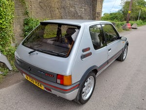 1989 Peugeot 205 1.9 GTi For Sale (picture 1 of 9)