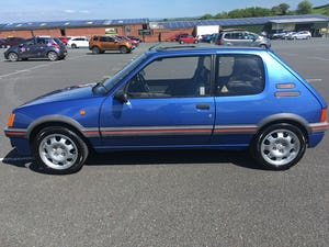 1989 205 1.9 GTI Limited Edition For Sale (picture 2 of 12)