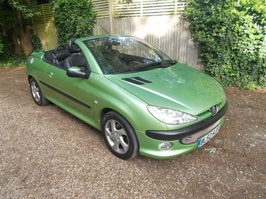 Picture of PEUGEOT 206 CONVERTIBLE NEW MOT FSH 2003 For Sale