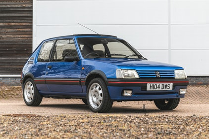 Picture of 1990 PEUGEOT 205 GTI Estimate: £12,000 - £14,000 For Sale by Auction
