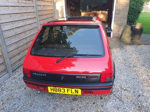 1991 Peugeot 205 gti 1.6 red For Sale (picture 4 of 12)