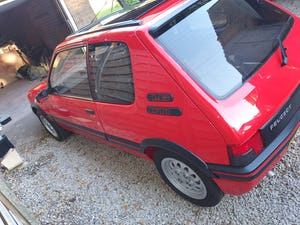 1991 Peugeot 205 gti 1.6 red For Sale (picture 5 of 12)