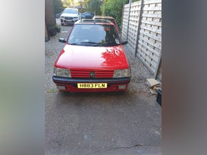 1991 Peugeot 205 gti 1.6 red For Sale (picture 8 of 12)
