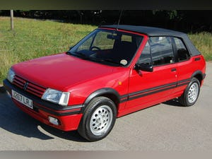 1991 PEUGEOT 205 CTi 1.6 GTi CONVERTIBLE MODERN CLASSIC LOW For Sale (picture 1 of 12)