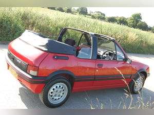1991 PEUGEOT 205 CTi 1.6 GTi CONVERTIBLE MODERN CLASSIC LOW For Sale (picture 10 of 12)