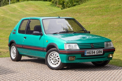 Picture of 1991 Peugeot 205 GTI 1.6 For Sale by Auction