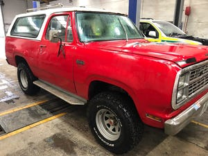 1979 Tax MOT exempt. Plymouth Trailduster 4x4 auto For Sale (picture 6 of 6)