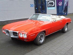 1969 PONTIAC FIREBIRD V8 CONVERTIBLE For Sale (picture 1 of 12)