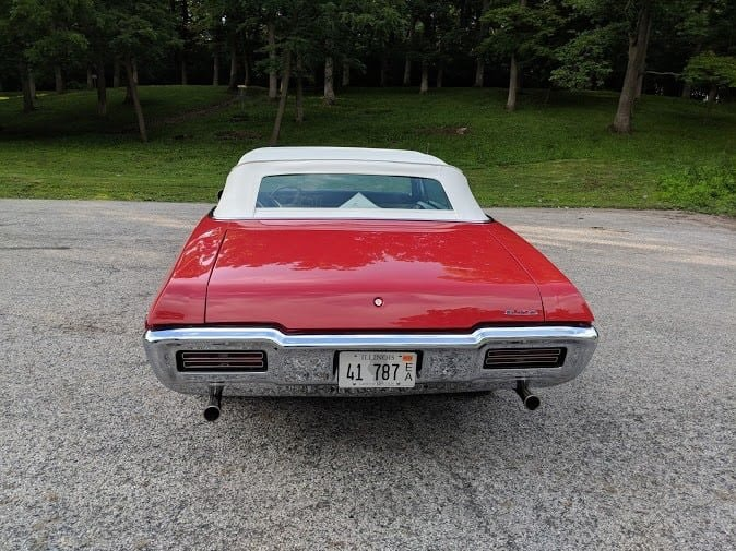 1968 Pontiac Ram Air 1 GTO Convertible (Streator, IL) For Sale (picture 3 of 6)