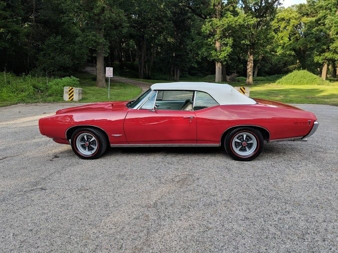 1968 Pontiac Ram Air 1 GTO Convertible (Streator, IL) For Sale (picture 4 of 6)