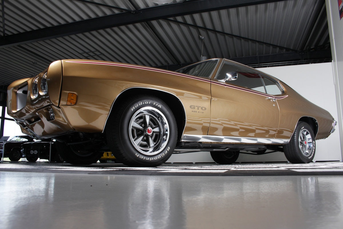 1970 Stunning 70 GTO 455 bigblock 4 speed! restored & Matching For Sale (picture 2 of 6)