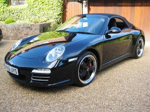 2011 Porsche 911 (997 Gen II) Carrera 4s PDK Cabriolet For Sale (picture 1 of 6)
