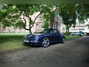 1997 Porsche 993 C2S RHD in manual - Zenith Blue For Sale (picture 1 of 6)