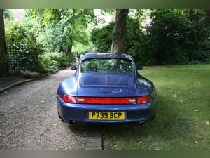 1997 Porsche 993 C2S RHD in manual - Zenith Blue For Sale (picture 2 of 6)