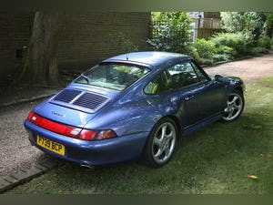 1997 Porsche 993 C2S RHD in manual - Zenith Blue For Sale (picture 4 of 6)