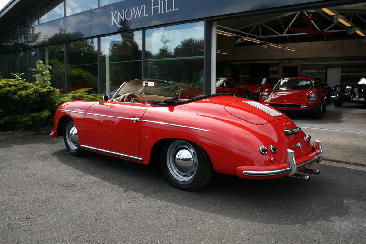 1957 Porsche 356 A Speedster previously owned by Michael Lang For Sale (picture 2 of 6)