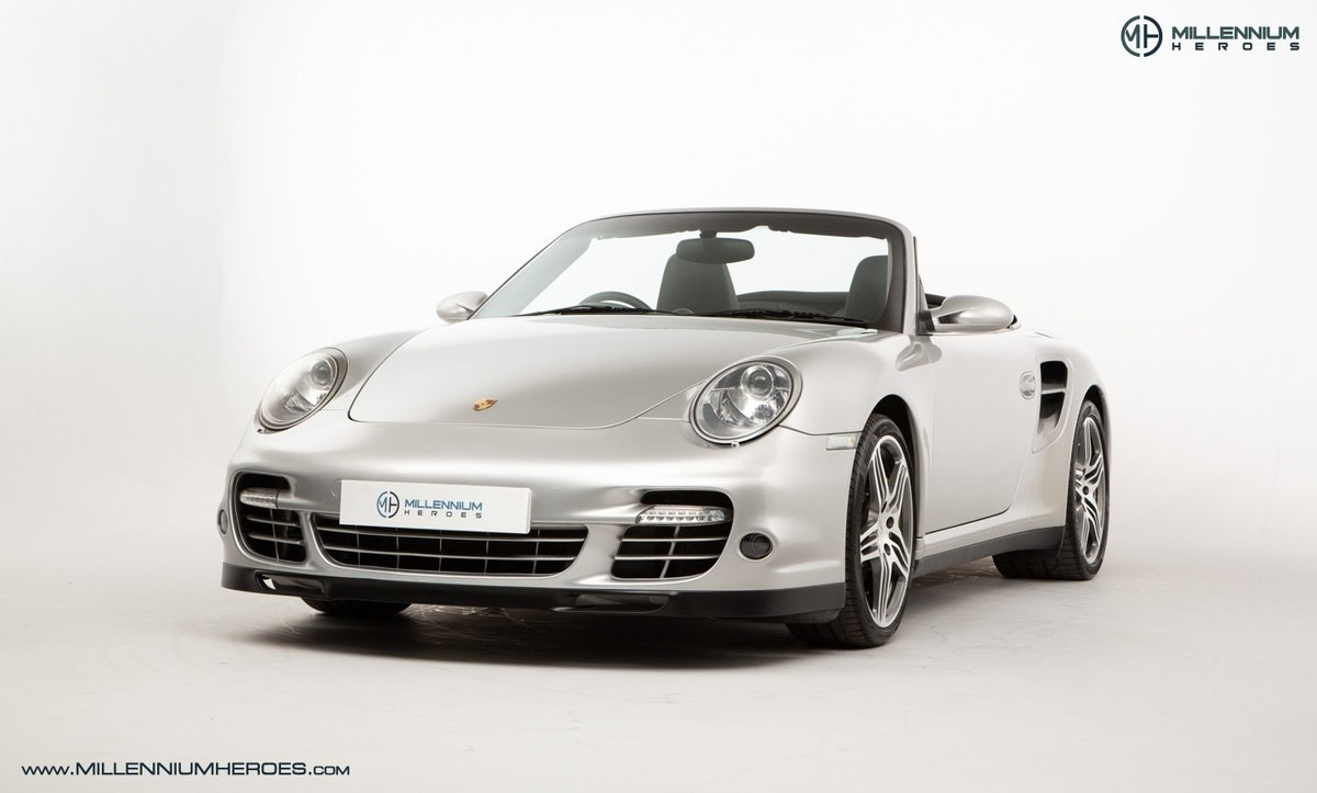 2008 PORSCHE 911 (997) TURBO CAB //  FACTORY PCCB // GEN 1.5 For Sale (picture 1 of 24)