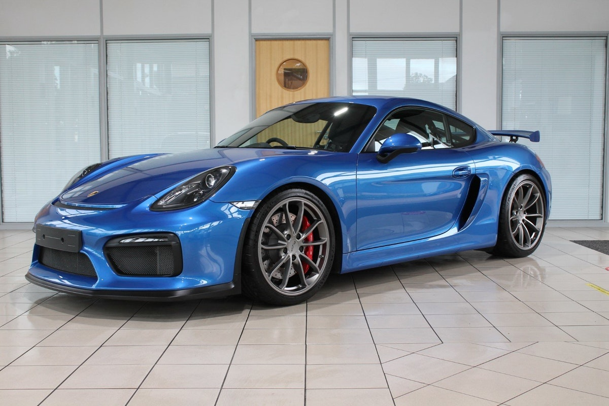 2016 Porsche Cayman (981) GT4 Clubsport Package For Sale (picture 1 of 12)