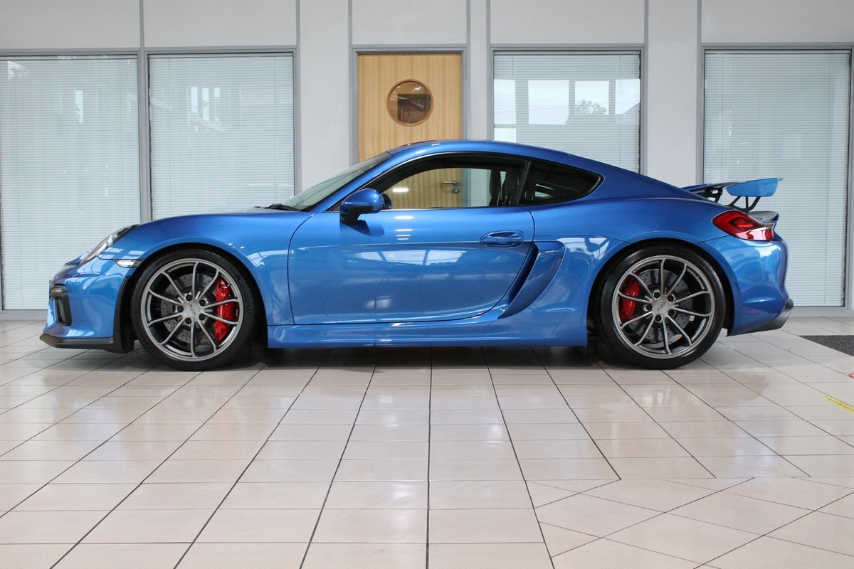 2016 Porsche Cayman (981) GT4 Clubsport Package For Sale (picture 2 of 12)