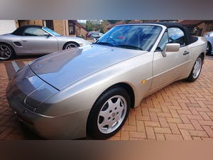 1989 Porsche 944 S2 Convertible  Concours Condition For Sale (picture 1 of 12)