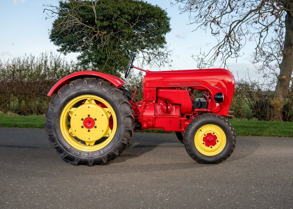 1959 Porsche Diesel Standard 218 Tractor SOLD by Auction (picture 1 of 6)