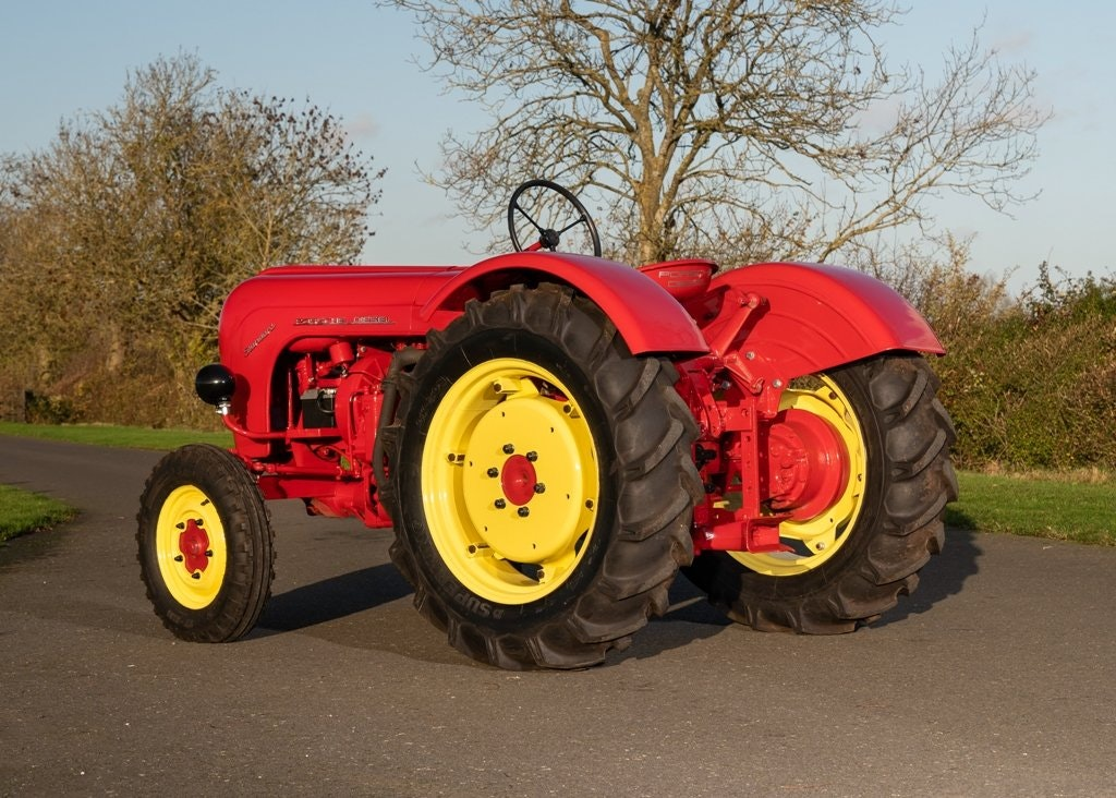 1959 Porsche Diesel Standard 218 Tractor SOLD by Auction (picture 2 of 6)