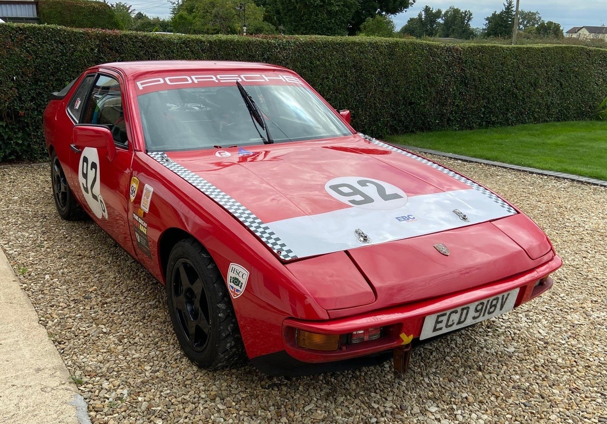 1979 Porsche 924 HSCC 70's Second Overall For Sale (picture 1 of 5)