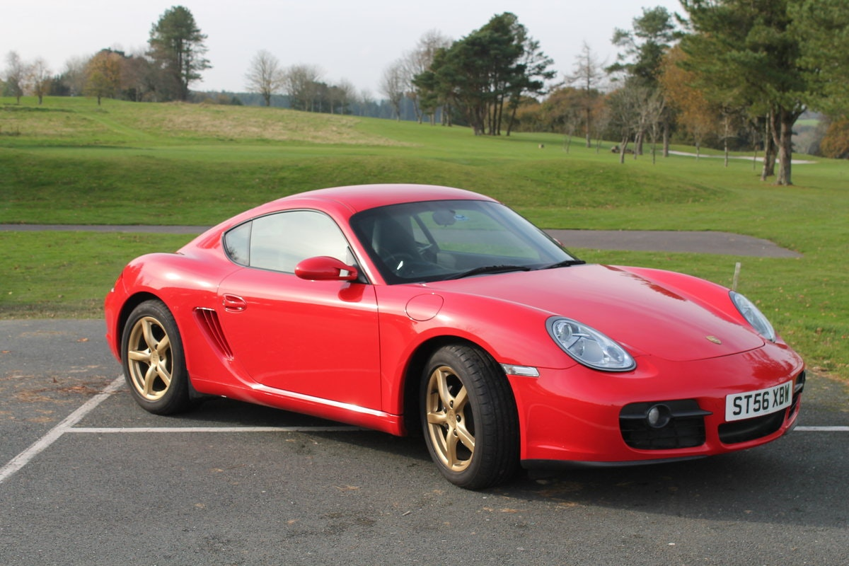 2006 Porsche Cayman 2.7 (987) For Sale (picture 1 of 6)