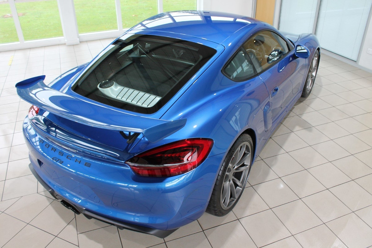 2016 Porsche Cayman (981) GT4 Clubsport Package For Sale (picture 9 of 12)