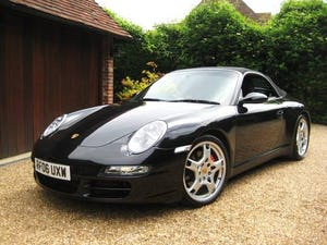2006 Porsche 911 (997) Carrera 4 S Tiptronic S Convertible For Sale (picture 1 of 6)