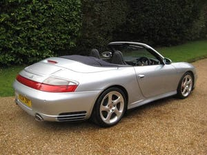 2004 Porsche 911 (996) Carrera 4 S Tiptronic S With Only 27k For Sale (picture 6 of 6)