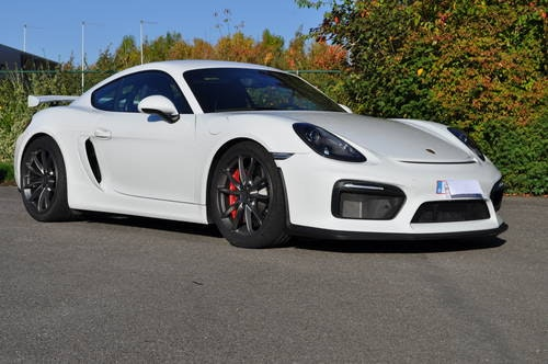 PORSCHE CAYMAN GT4 3.8 2017 ID17030 For Sale (picture 1 of 6)