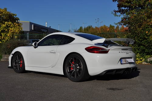 PORSCHE CAYMAN GT4 3.8 2017 ID17030 For Sale (picture 2 of 6)