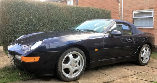 Picture of 1993 Porsche 968 Midnight blue with blue roof For Sale