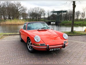 1968 Stunning 912 targa wit revised engine For Sale (picture 1 of 9)