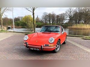 1968 Stunning 912 targa wit revised engine For Sale (picture 4 of 9)