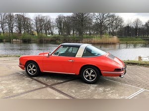 1968 Stunning 912 targa wit revised engine For Sale (picture 7 of 9)