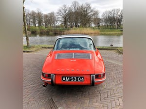 1968 Stunning 912 targa wit revised engine For Sale (picture 8 of 9)