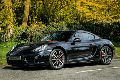 Picture of 2014 Porsche 981 Cayman S PDK Basalt Black Special Order For Sale
