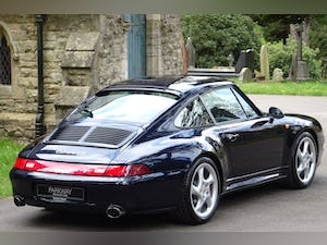 1996 PORSCHE 993 C4S 2DR COUPE MANUAL For Sale (picture 11 of 12)