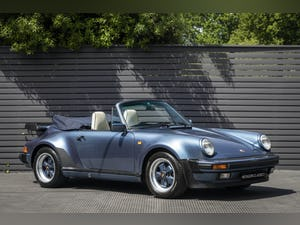1989 PORSCHE 911 (930) 3.3 TURBO CABRIOLET G50 For Sale (picture 1 of 12)