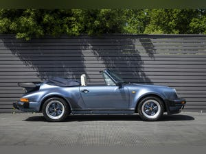 1989 PORSCHE 911 (930) 3.3 TURBO CABRIOLET G50 For Sale (picture 4 of 12)