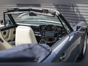 1989 PORSCHE 911 (930) 3.3 TURBO CABRIOLET G50 For Sale (picture 10 of 12)
