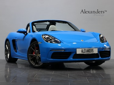 Picture of 2018 18 18 PORSCHE 718 BOXSTER S 2.5T PDK For Sale
