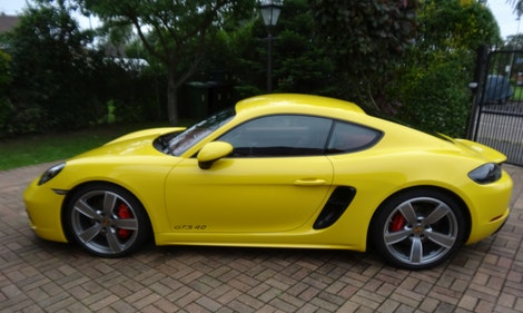 Picture of 2020 Porsche 718 Cayman 4.0 GTS Flat Six - Racing Yellow For Sale