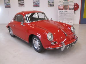 1965 Porsche 356 C Karmann Coupe – one of 1101 produced For Sale (picture 1 of 50)