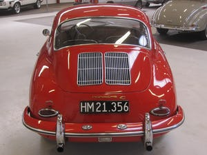 1965 Porsche 356 C Karmann Coupe – one of 1101 produced For Sale (picture 5 of 50)